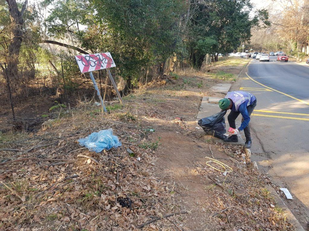 GRA cleanup Sunningdale Rd/ Gleneagles Aug 2019